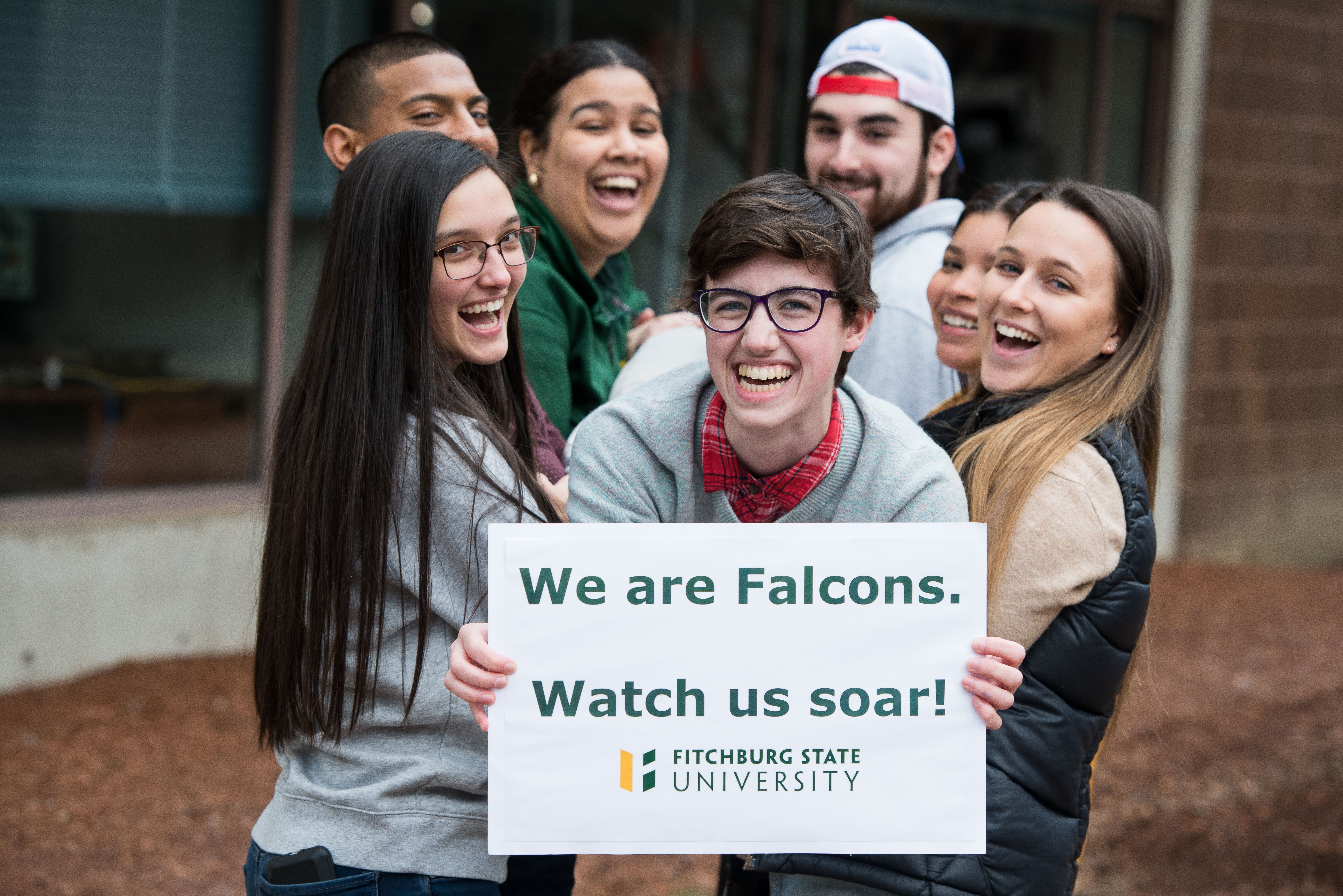 We are Falcons. Watch us soar.