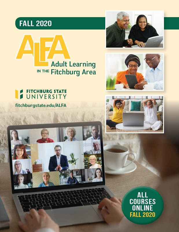 Fitchburg State ALFA fall 2020 Brochure cover