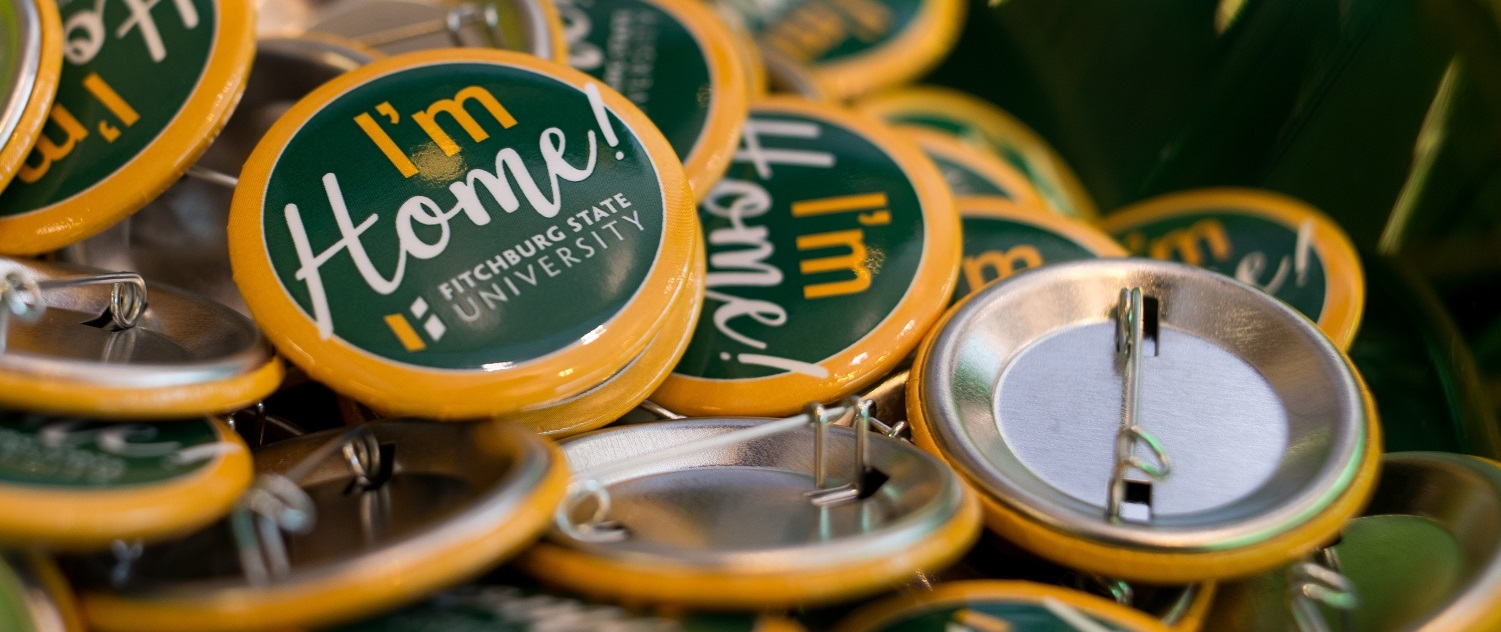 Fitchburg State Homecoming Buttons