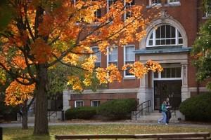 Edgerly Hall in Autumn