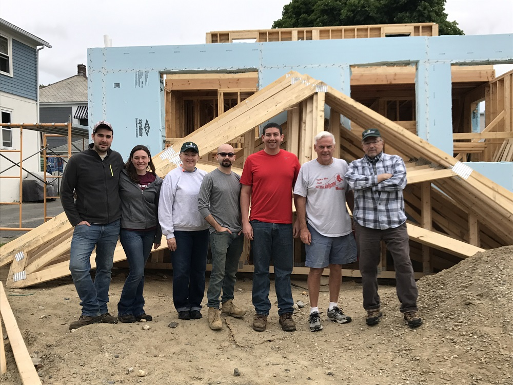 Fitchburg State alumni participate in Habitat for Humanity
